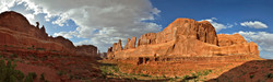 Afternoon at Park Avenue, Arches NP