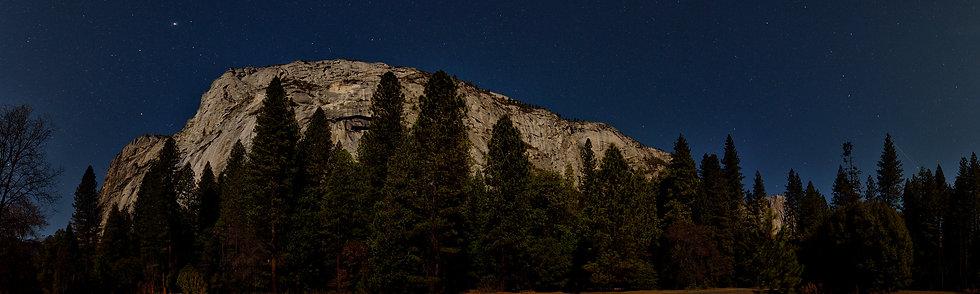 Night in Yosemite
