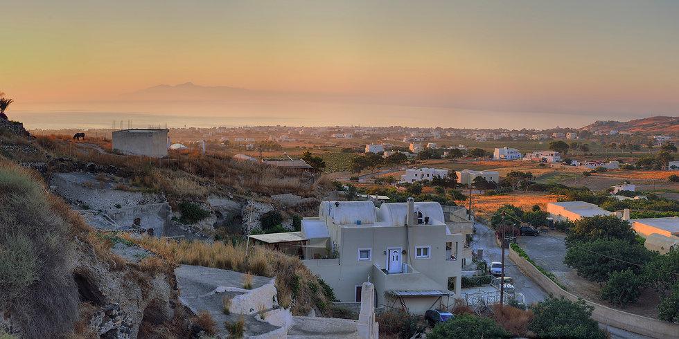 Dawn over Eastern Santorini