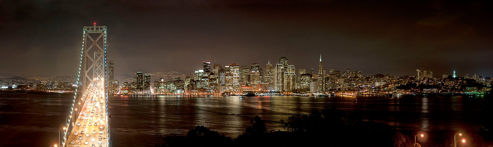 San Francisco from Treasure Island 2