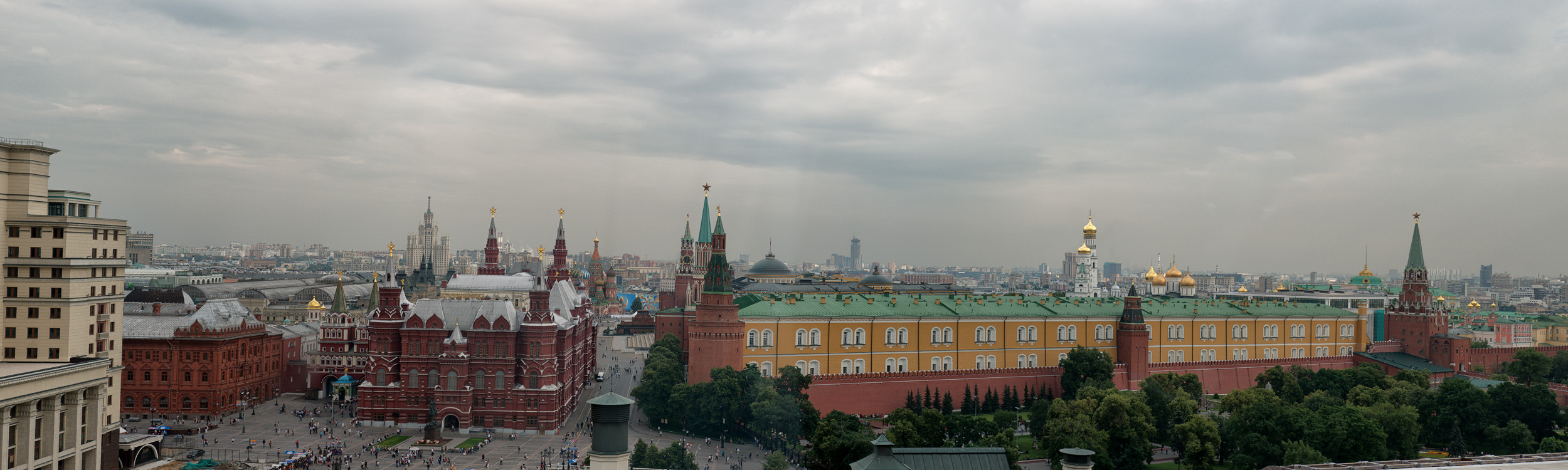 Red Square Skyline