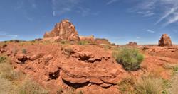 Arches National Park Near La Sal Mountain