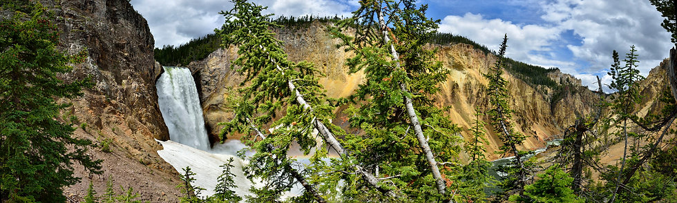 Lower Yellowstone Falls, Yellowstone NP