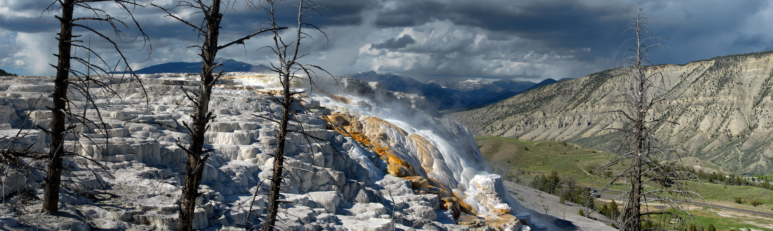 Canary Springs, Yellowstone NP