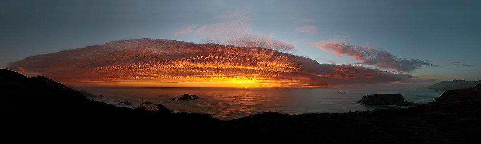 Goat Beach Sunset, CA