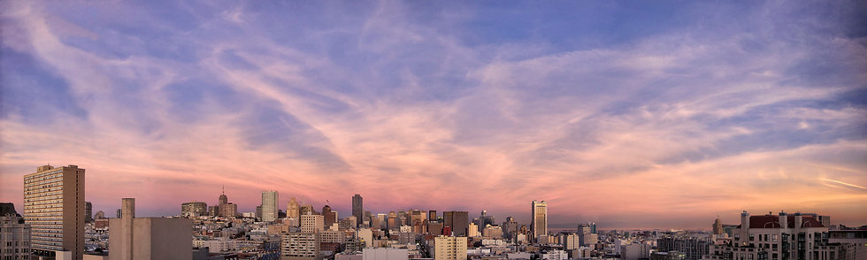 Afternoon Clouds over San Francisco