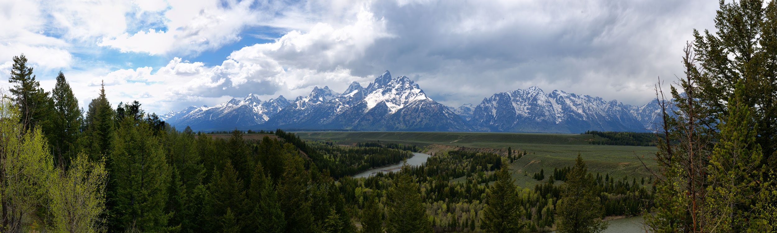 Snake River and the Teton Range