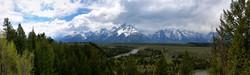 Snake River and the Teton Range