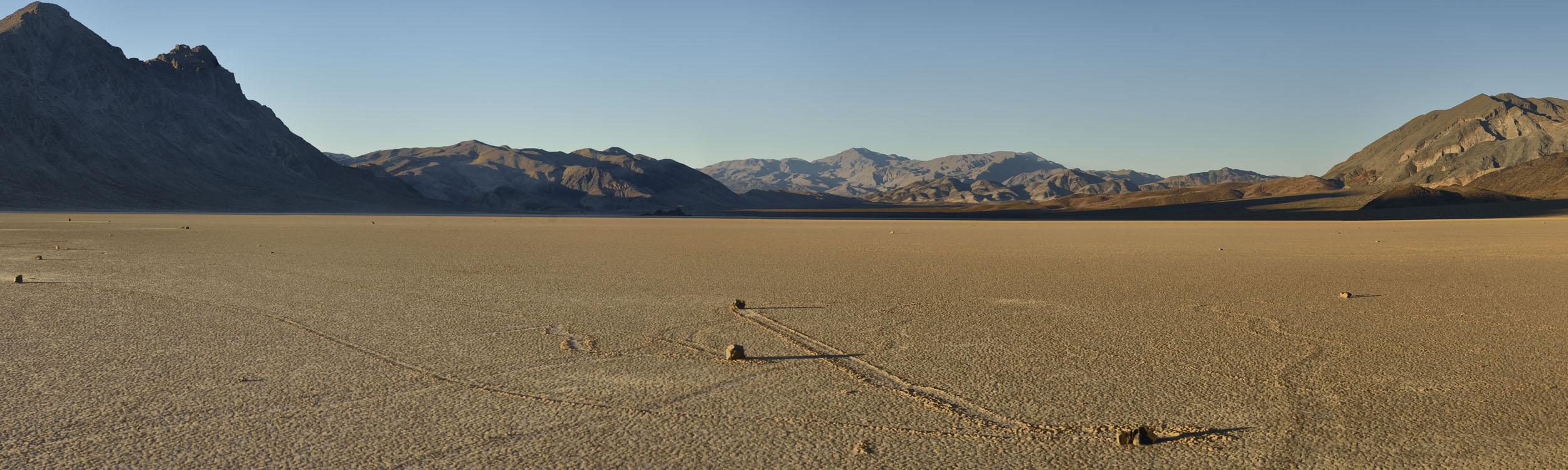 Racetrack Rock, Death Valley NP