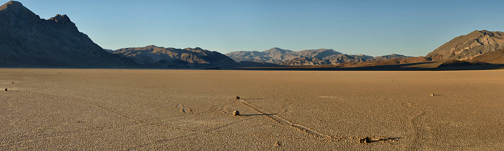 Racetrack Rock, Death Valley NP