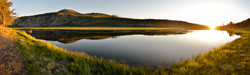 Sunset on the Madison River