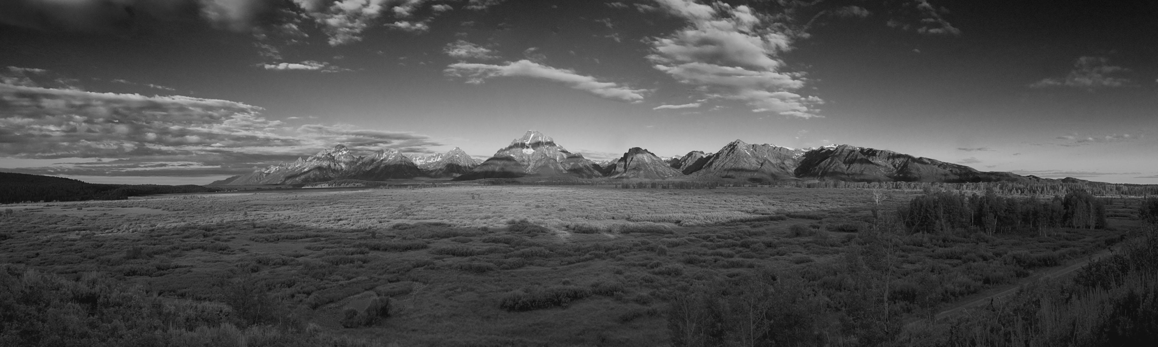 Evening Sets on Grand Tetons