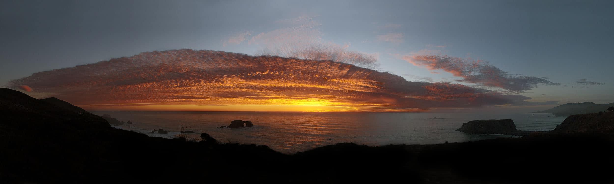 small Goat Beach Sunset, CA