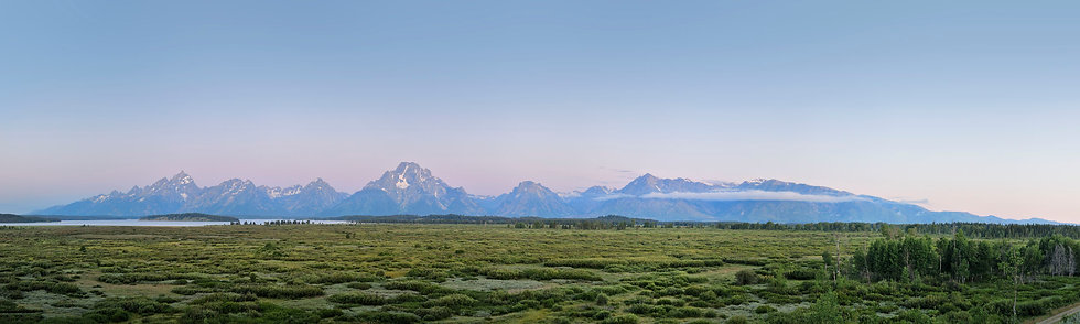 The View from Grand Teton Lodge