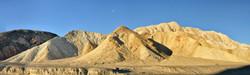 Moon over Twenty Mule Team Canyon