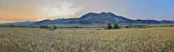 Predawn Emigrant Peak, MT