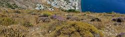Eastern Bluff of Santorini