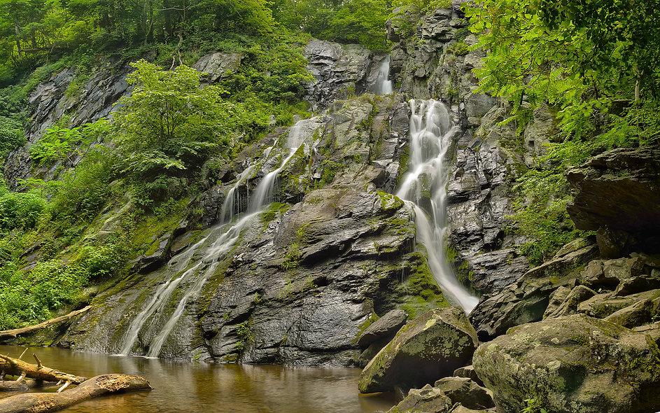 Waterfall in Shenandoah NP