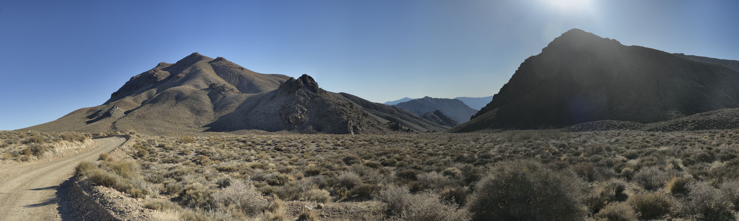 The Road to Titus Canyon, NV