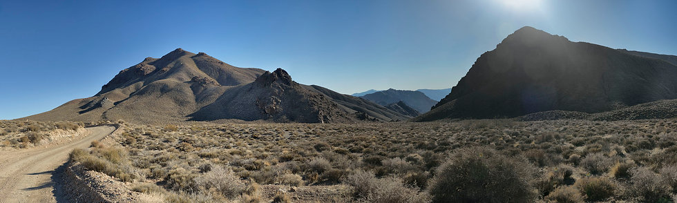 The Road to Titus Canyon, Nevada