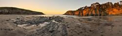 Stump beach sunset