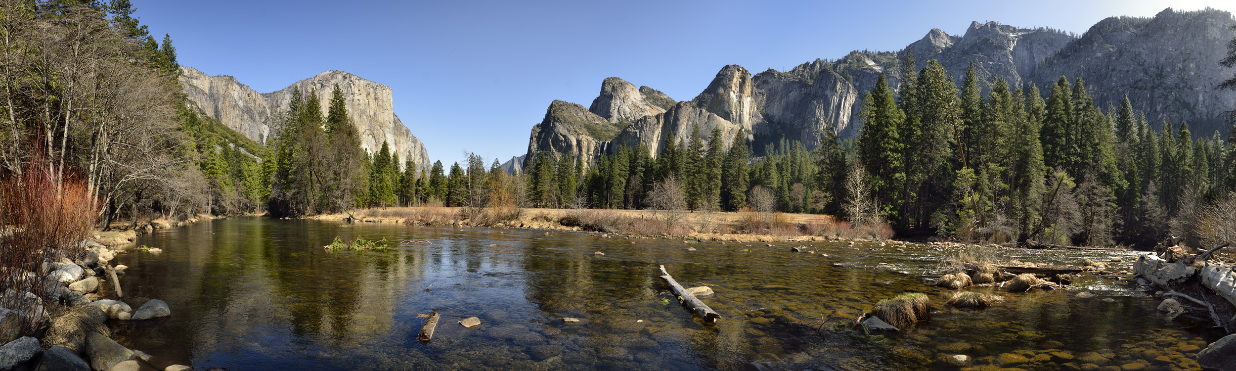 Afternoon Along Merced River