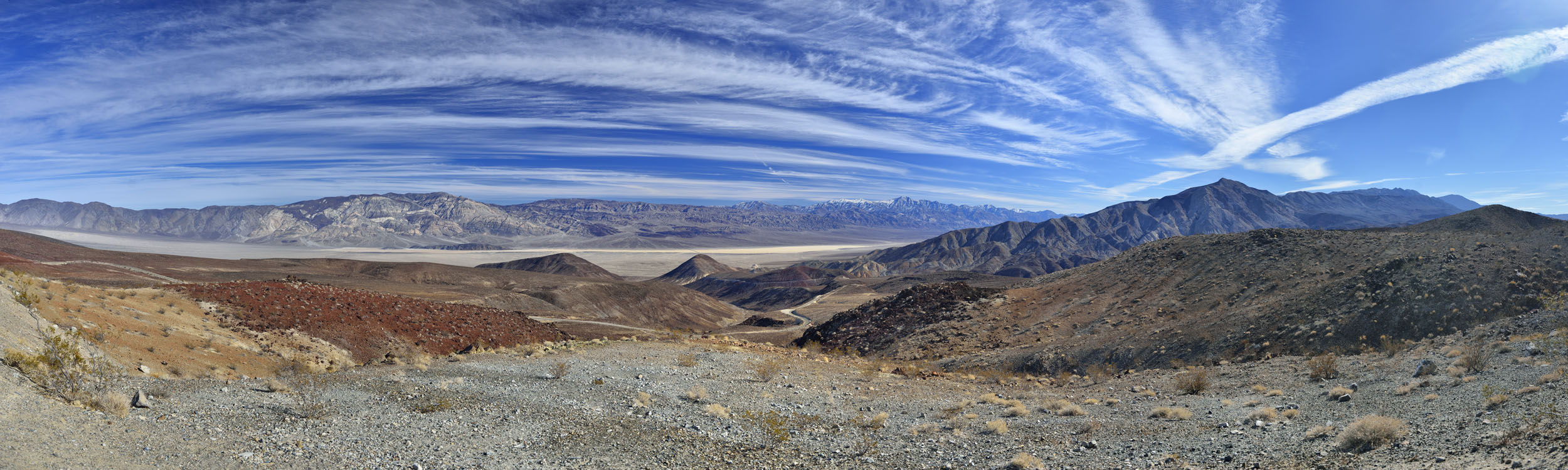 Panamint Mountains at Death Valley