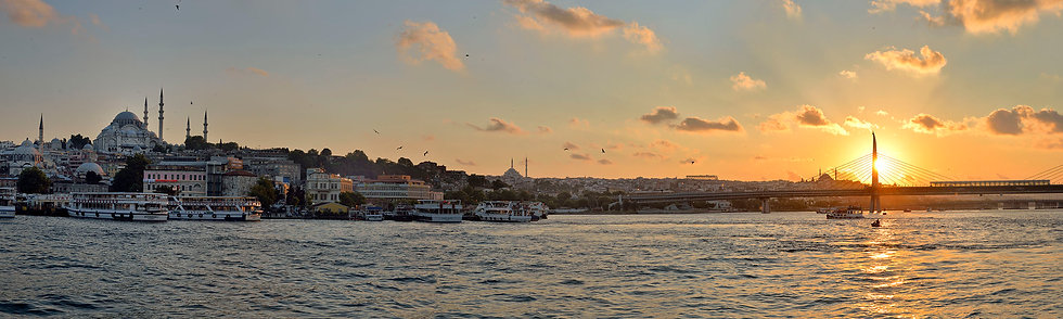 View from Galata Bridge, Istanbul