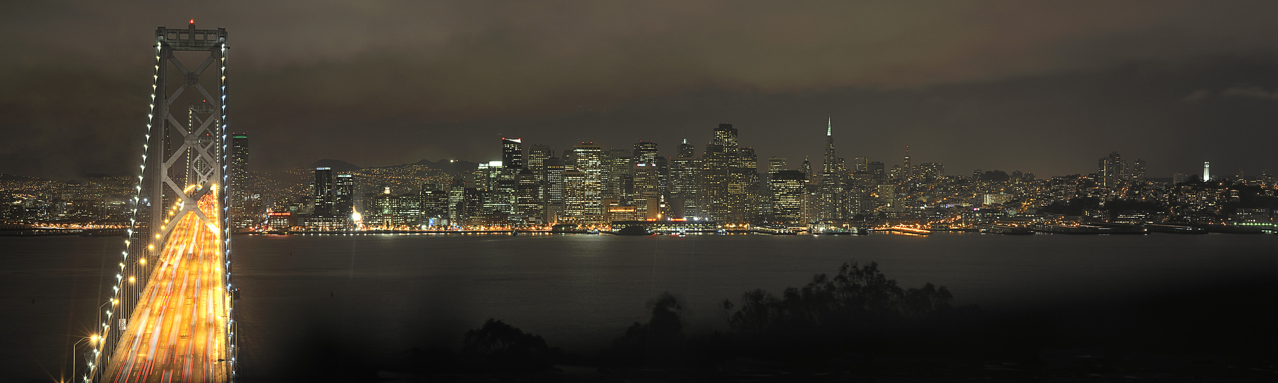 San Francisco Stormy Night