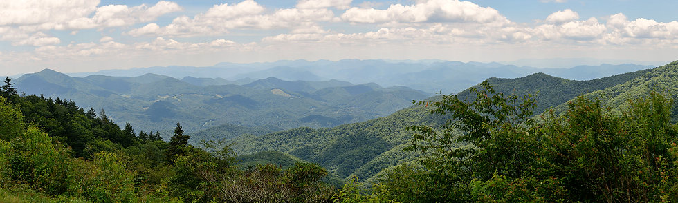 View from Blue Ridge Parkway, NC