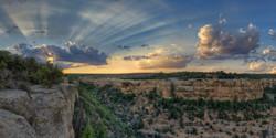 Sunset at Soda Canyon, Colorado