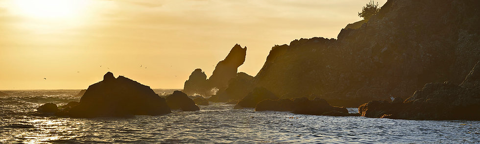 Golden Hour at Stillwater Cove, CA