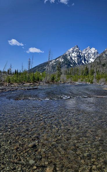 Cascade Creek Near Jenny Lake