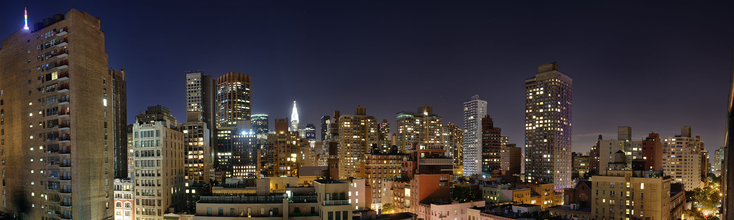 New York from Park South Hotel Roof