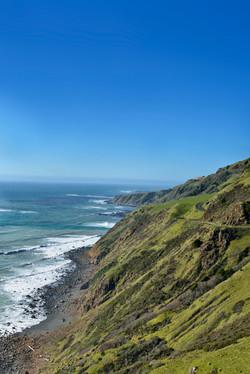 Highway 1 Wraps the Coast, CA