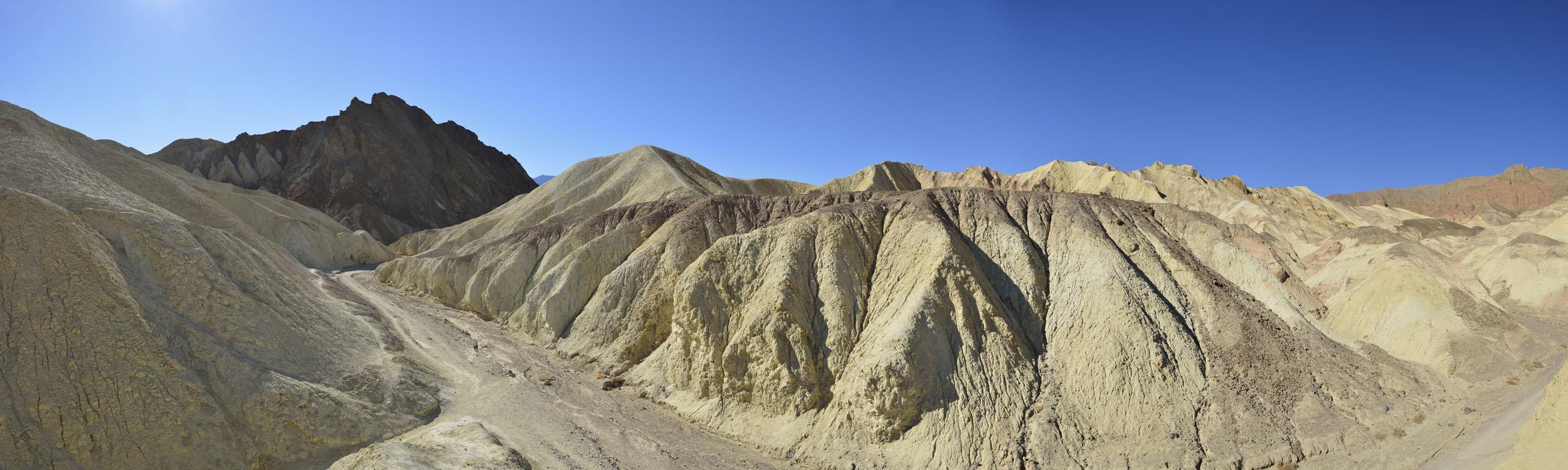 Zabriskee Point, Death ValleyNP