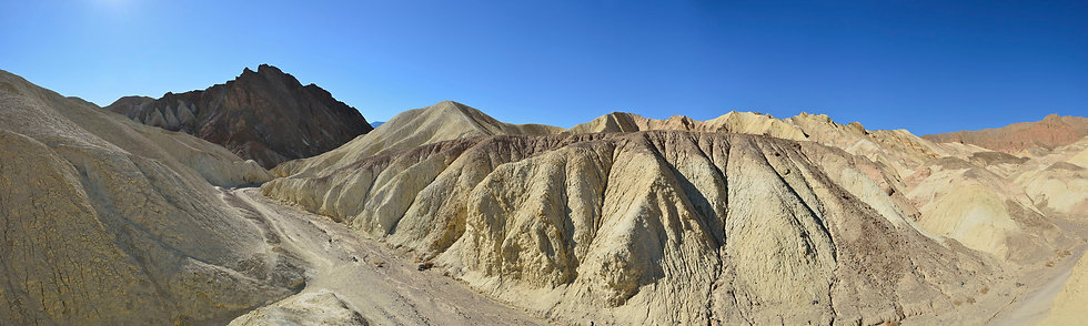 Zabriskie Point from Golden Canyom