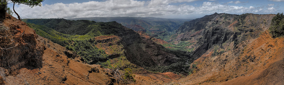 Waimea Canyon Looking South #2