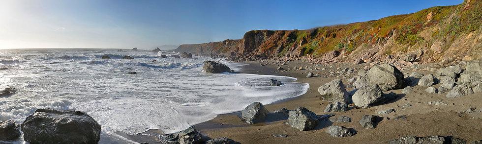 Ocean at Kortum Trail, CA