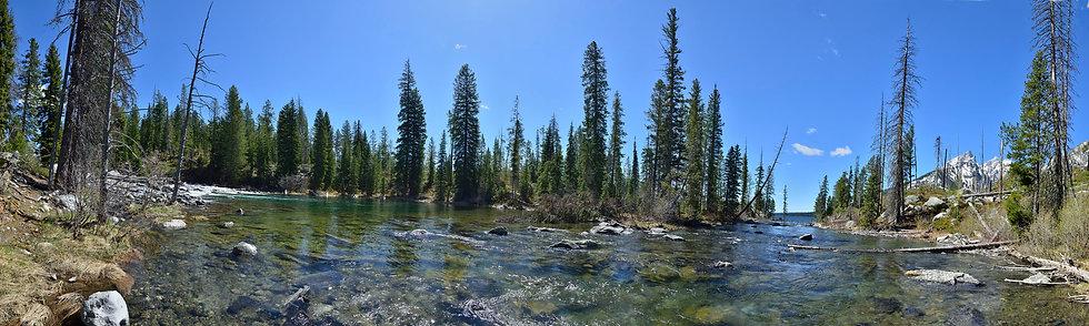 Cascade Creek at Lake Jenny, Teton NP