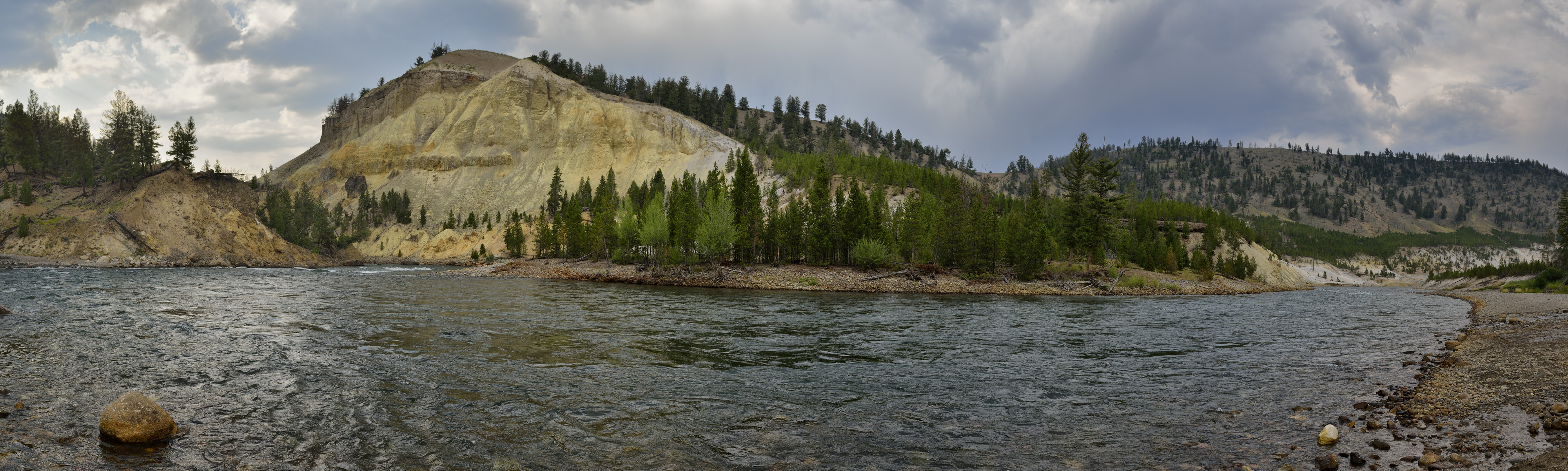 Yellowstone River at Tower Junction