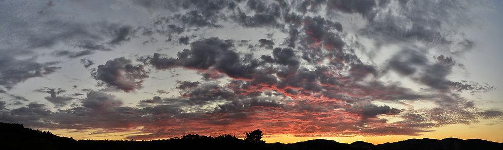 Sunset in Marin County, CA