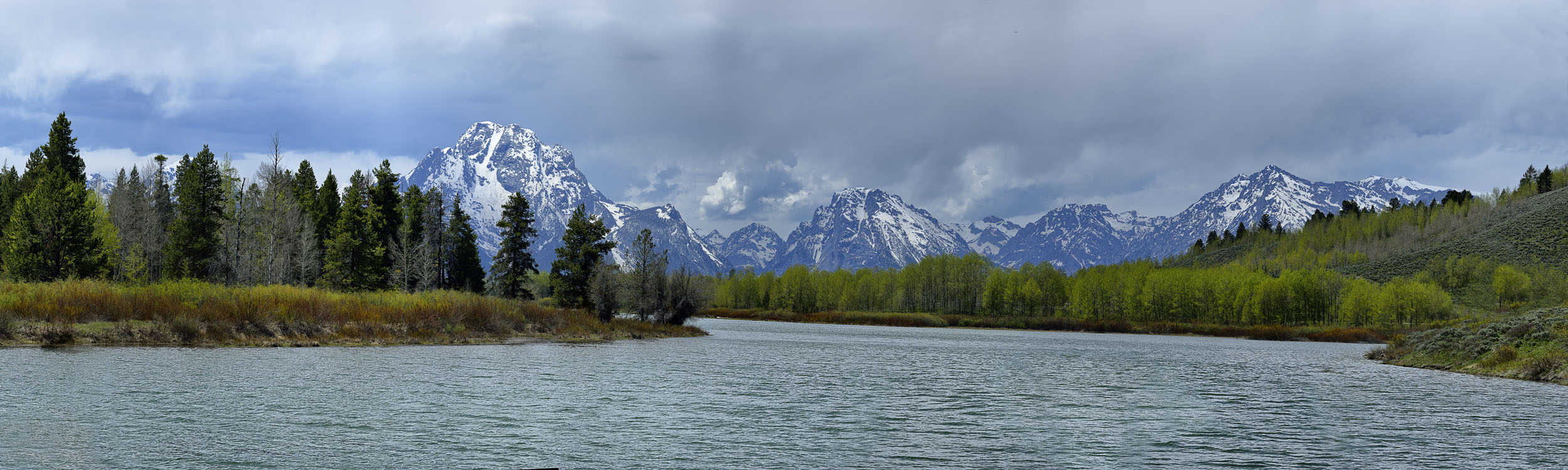Snake River Near Moran Junction