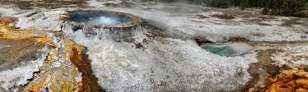 Geyser Detail, Yellowstone NP