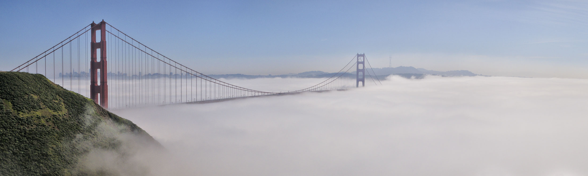Golden Gate Fog #1, CA