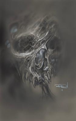 Skull#1 Print for sale