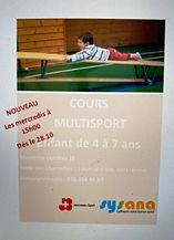 Cours Multisport Enfant Genève