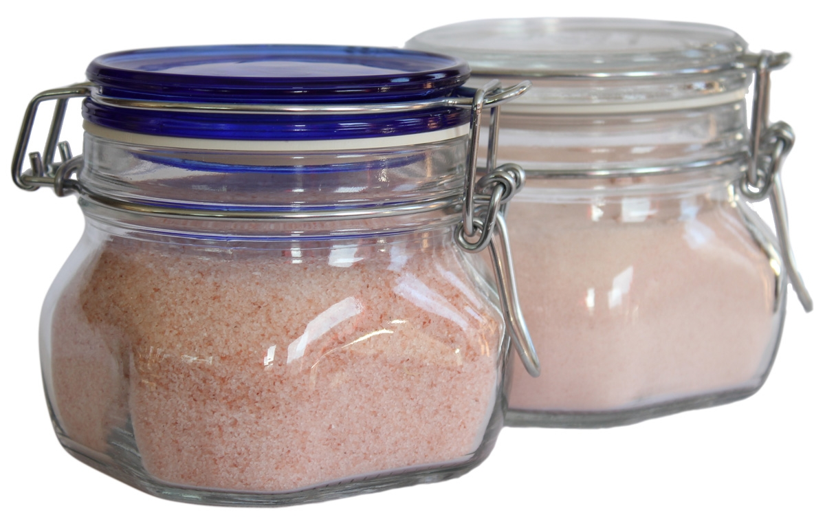 Storage Salt Jar + 1 lb Salt