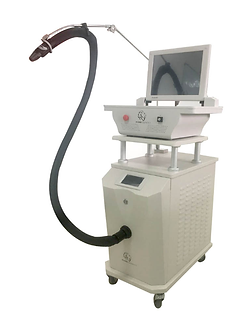 Radiofrequency microneedling machine