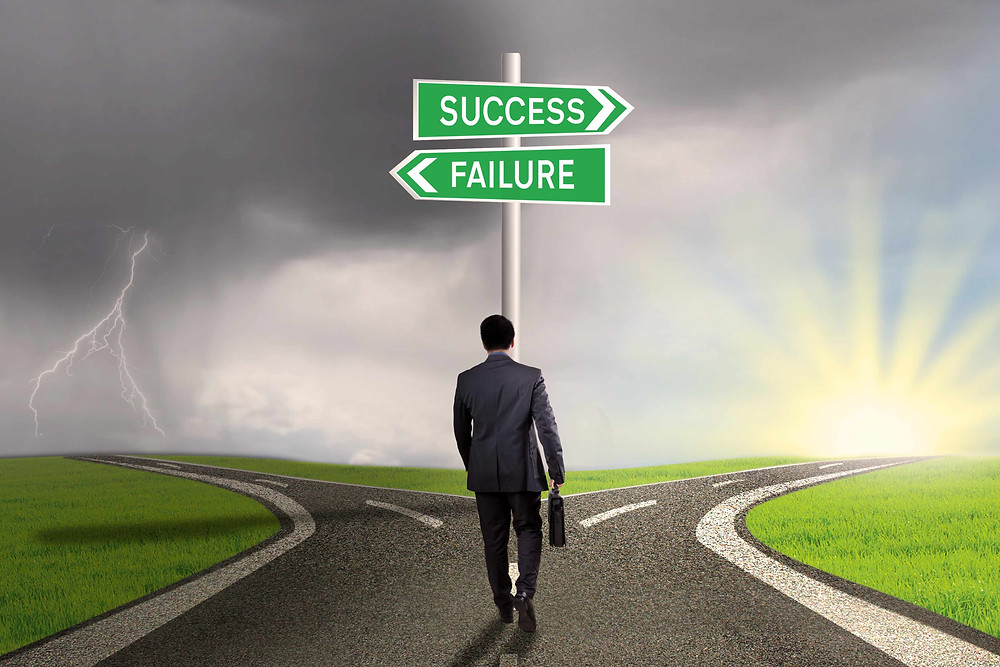 The road to success or failure